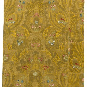Part of a silk canopy, Spitalfields, London, England. Museum no. T.184-1975