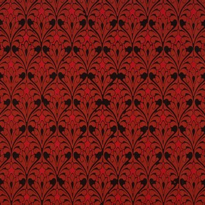 Wallpaper with design of formalised foliage, Owen Jones, mid-19th century. Museum no. 8337.138