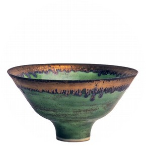 Bowl, Lucy Rie, about 1979. Museum no. C.44-1982