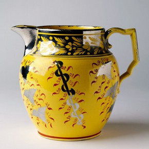 Jug, about 1810-20. Museum no. C.16-1942