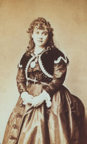 Horatio Nelson King (photographer), photograph of Ada Isaacs Menken, 1860's. Museum no. S.146:659-2007