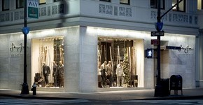Sean John store, opened on 5th Avenue, New York, 2004