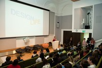 Young people from partner organisations across the country attend a Design for Life young people's conference at the V&A