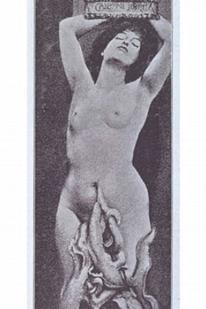 Fernand Khnopff, 'Istar; from Ver Sacrum', 1888. Museum no. PP.74 A