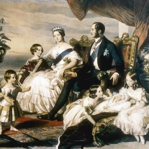Francis Xavier Winterhalter, 'The Royal Family'