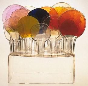 'Lollipop Isle', Oiva Toikka, 1969. Museum no. CIRC.444-1969