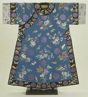 Woman's birthday robe, 1870-1911, Museum no. T.231-1948