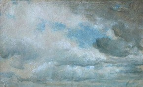 'Study of clouds' by John Constable RA, 1822, Museum no. 590-1888