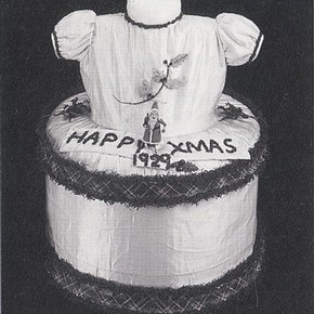 Fig. 1: The Xmas Cake Dress after conservation. Museum no. Misc. 172-1984