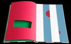 'Cahier dun Retour au Pays Natal' , Daniel Buren.  ADAGP, Paris and DACS, London 2008