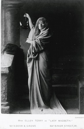 Ellen Terry as Lady Macbeth, 1888. Museum no. 2006AE9501