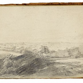 Dedham Vale, Constable Sketchbook