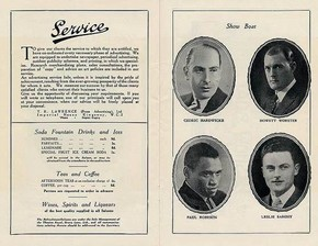 Cast Photographs from the Showboat programme, Drury Lane Theatre, 1928