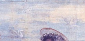 Raphael, The Miraculous Draught of Fishes - detail of swans