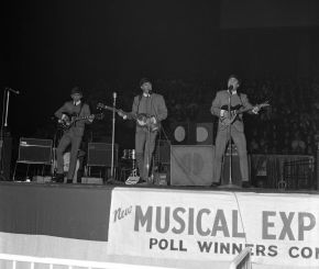 The Beatles New Musical Express Poll Winners Concert, Empire Pool (Now Wembley), photographic negative, Harry Hammond, 1963. Museum no. S.9100-2009.  Victoria and Albert Museum, London