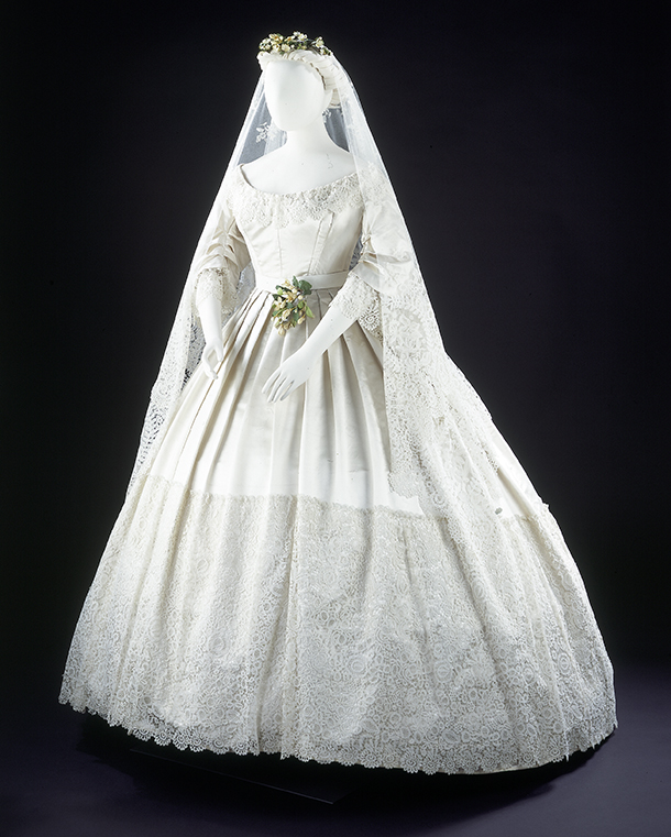 Conservation Of A Victorian Wedding Dress