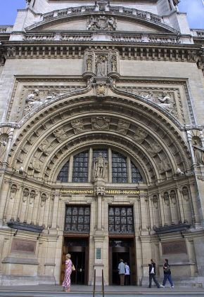 Main doorway. © Victoria and Albert Museum, London