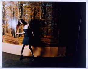 Corinne Day, Woman dancing at a London club, 1992, © The Estate of Corinne Day/Victoria and Albert Museum, London