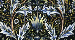 A William Morris and William De Morgan Tile-Panel