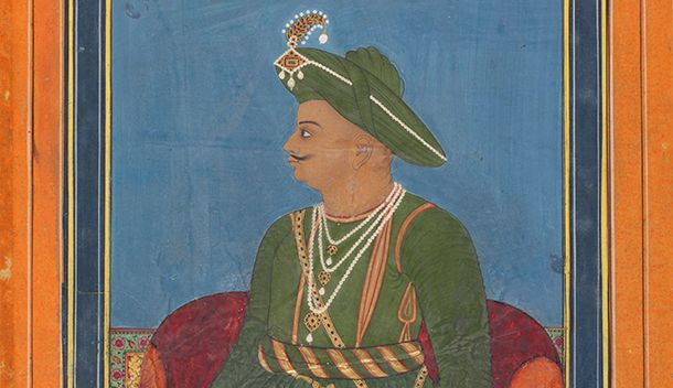 Tipu Sultan, c. 1790, Mysore. Museum no IS.266-1952
