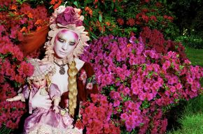 Miles Aldridge, Blooming #3, 2007, © Miles Aldridge/Victoria and Albert Museum, London