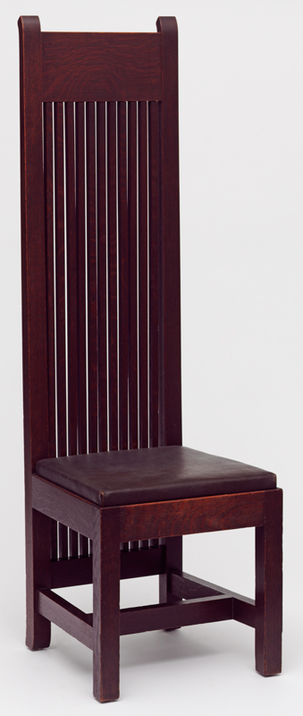 Chair For The Ward Willits House Designed By Frank Lloyd Wright 1902 Museum No W 4 1992