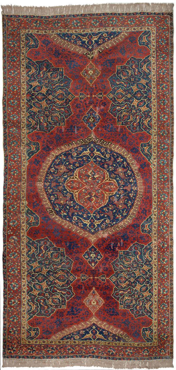 The Design Of The Ardabil Carpet Victoria And Albert Museum