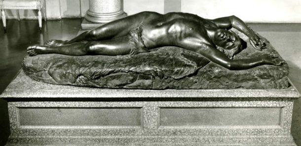 G. Dupré, Abele morente, bronze cast by C. Papi, 1850, Galleria d'Arte Moderna, Firenze (Inv. Gen. 634; Dep. 135).