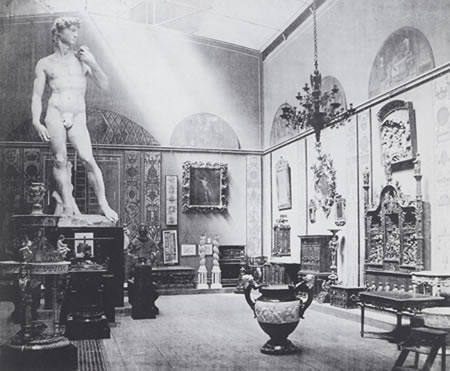 David displayed at the South Kensington Museum in 1857. Image © Victoria and Albert Museum, London