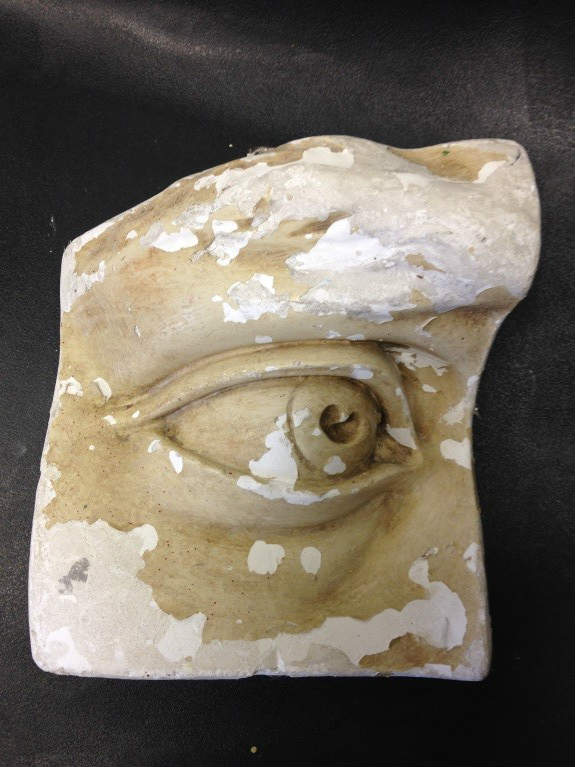 David's eye. NAS Drawing Department cast.
