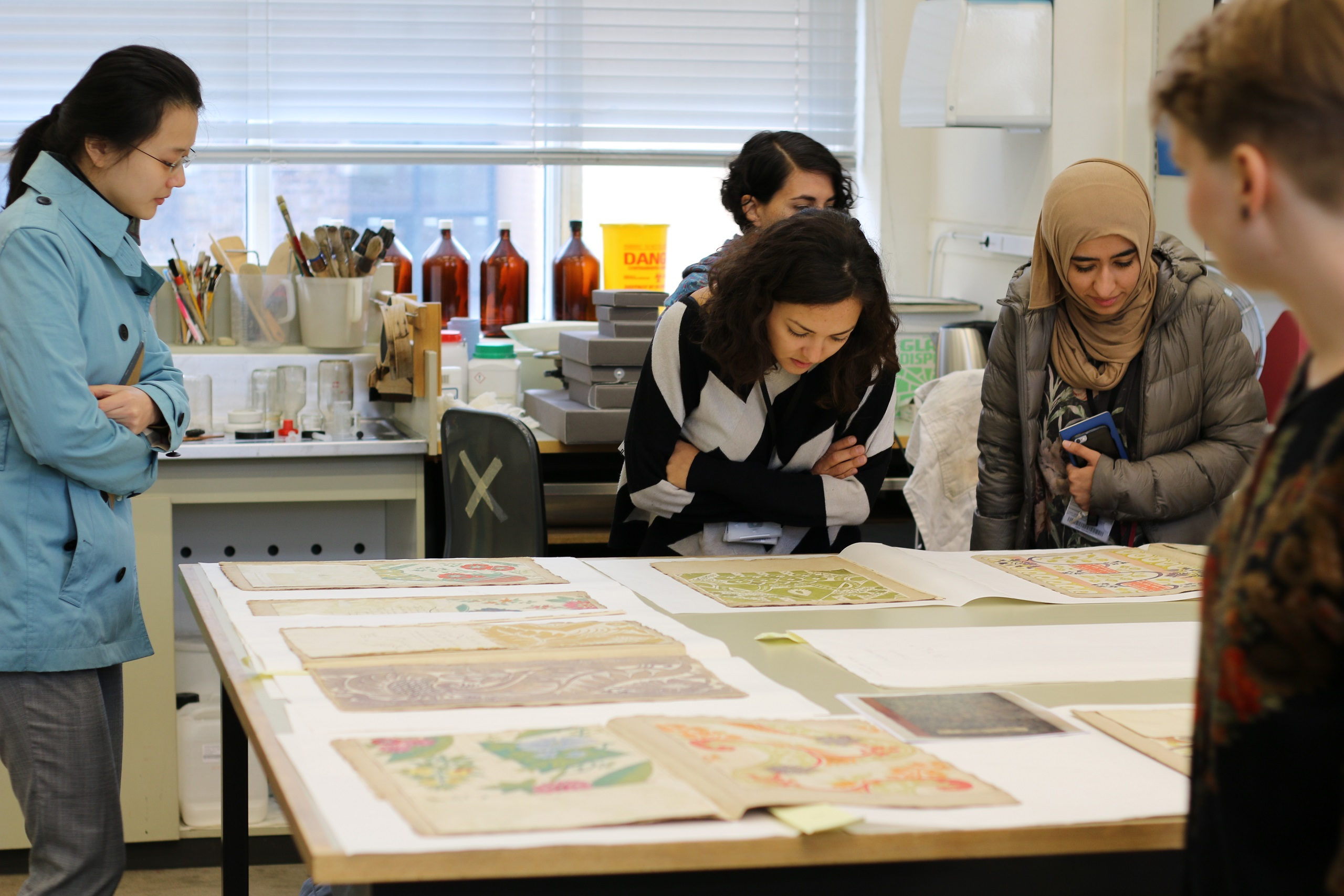 V&A RCA History of Design Corse students take a closer look at the Leman Album