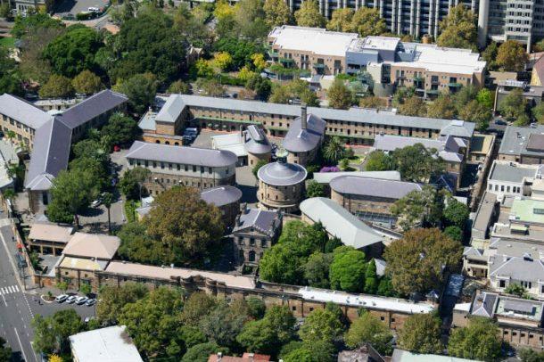 The National Art School (Darlinghurst Goal, East Sydney 1822-1921).