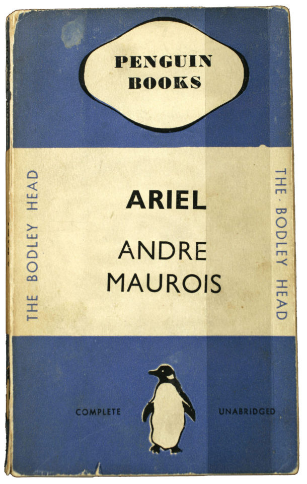 Front cover of 'Ariel' by Andre Maurois - published by Penguin.