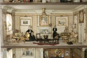 Drawing room of Amy Miles' House, W.146-1921 (c)V&A Museum, London