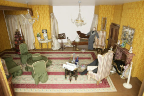 Saloon of Betty Pinney's House, Misc.14-1988 (c)V&A Museum, London