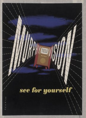 Poster, 'Murphy Television See for Yourself'