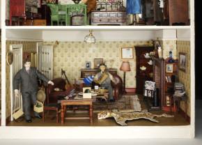 Living room of the Hopkinson House, B.8-2007 (c)V&A Museum, London