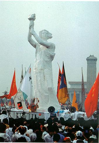 Goddess of democracy, Beijing, China, 1989