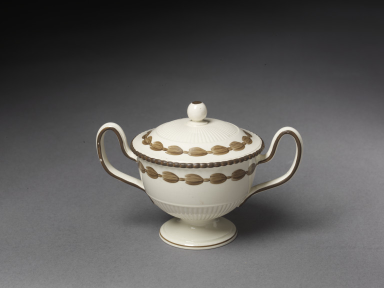 Ice cream cup, lead-glazed earthenware, made at the factory of Josiah Wedgwood, Etruria, Staffordshire, England, 1780-1800 V&A C.219&A-1939 © Victoria and Albert Museum, London