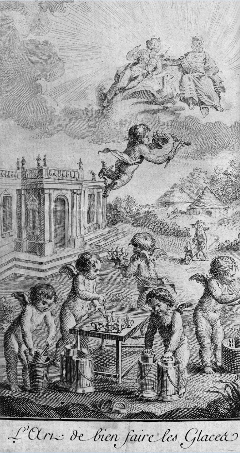 Illustration from 'Art de Bien Faire Les Glaces d 'Office' (1768) © http://gallica.bnf.fr You can view Emy's entire book online [here] http://gallica.bnf.fr/ark:/12148/bpt6k841611f/f9.image