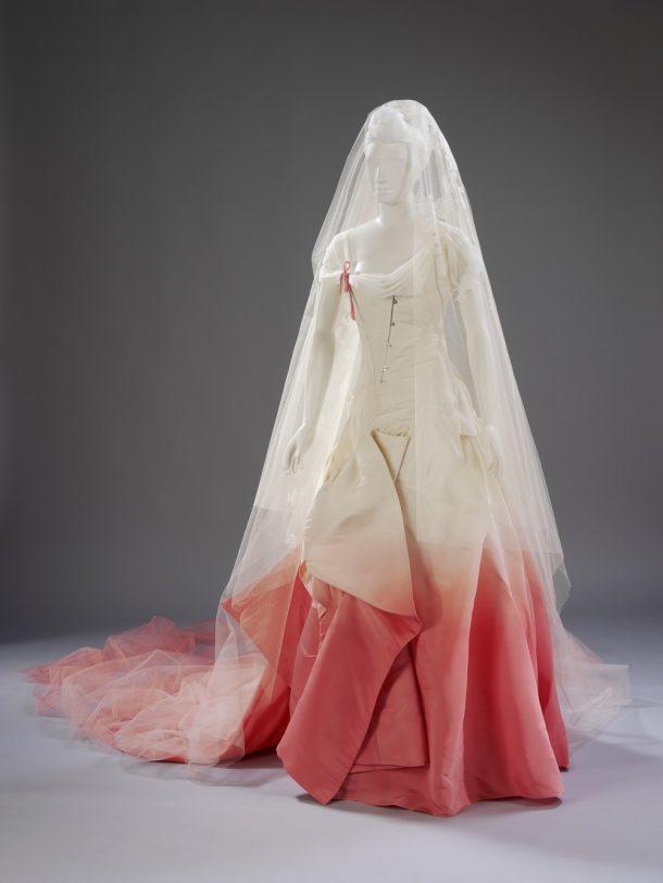 Wedding dress designed by John Galliano, worn by Gwen Stefani, 2002