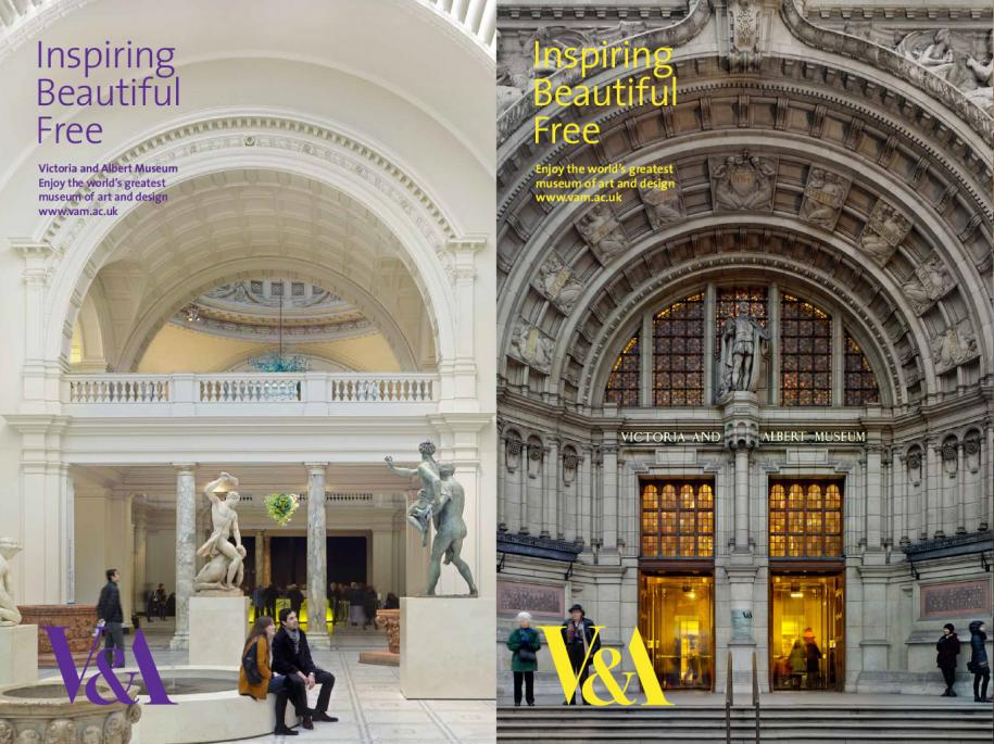 is victoria and albert museum free