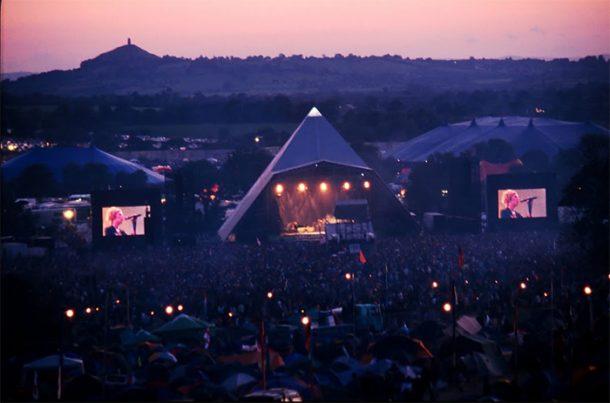 View of Pyramid Stage