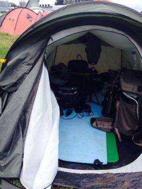 The Binaural sound tent at Glastonbury Festival