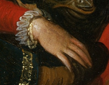 Detail from 'Witches' Sabbath', oil painting, Frans Francken (II), Antwerp, 1606 V&A Dyce.3 © Victoria and Albert Museum, London