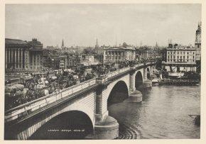 Photograph of London Bridge, S J Beckett, 1901, E.3378-2000 (c) V&A Museum, London