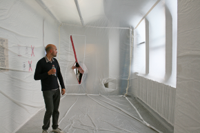 Common Practice at Space X, New York, 2013. Photograph by Greta Hansen.