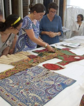 Selecting embroidered jackets from the V&A collection