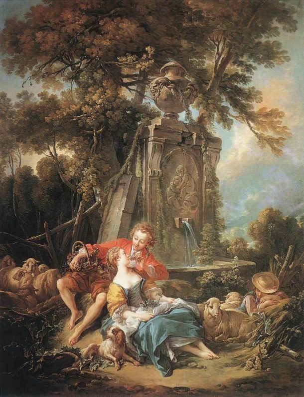 Autumn Pastoral, François Boucher, 1749. Wallace Collection