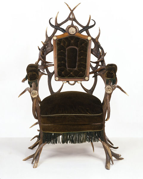 Armchair, H.F.C Rampendahl, ca. 1860 © Victoria and Albert Museum, London